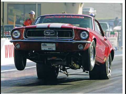 Mustang Drag Car Wsid 1 Youtube