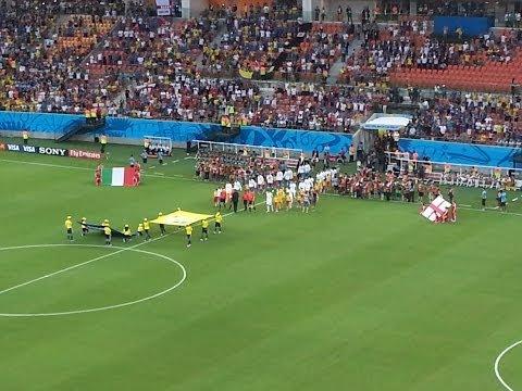 Itália vs Inglaterra Copa 2014 #Arena da Amazônia #Manaus