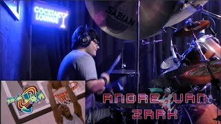 "Andre Van Zark - Space Jam ""Fly like an Eagle"" (Drum Cover)"