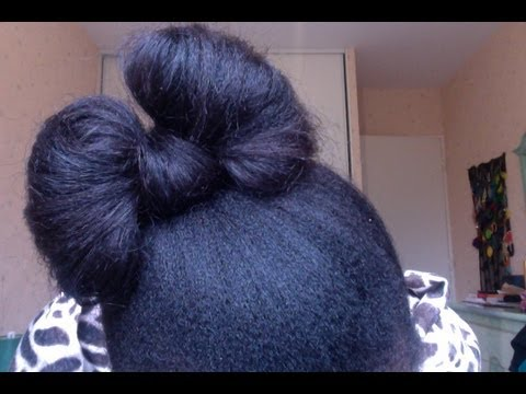 🍭38🍭~ Coiffure protectrice 6 - Le noeud papillon.