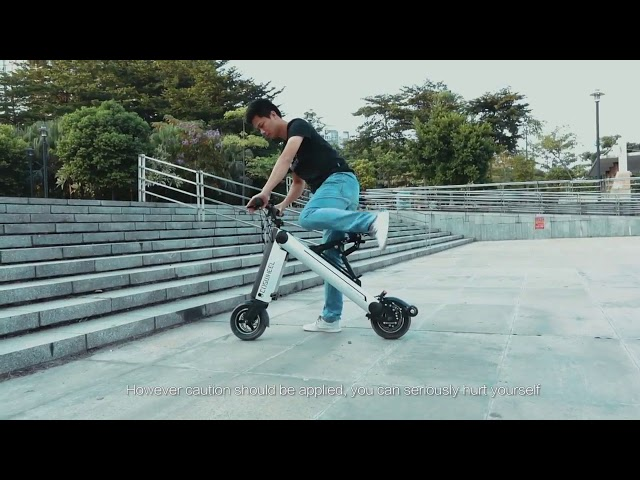 Coswheel Electric Bike - Unfold in only ONE second (2019) ✅ 🔥
