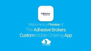 Adhesive Brokers - Mobile App Preview - ADH766W