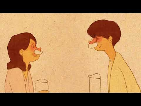 white moustache [ Love is #114 / Puuung ]