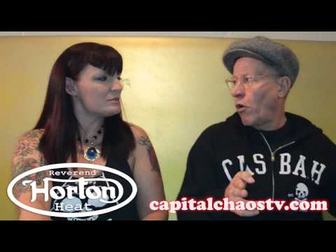 THE REVEREND HORTON HEAT (interview) @ Ace Of Spades CAPITALCHAOSTV.COM
