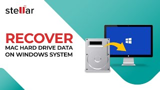 Recover Mac Hard Drive on Windows with Stellar Data Recovery Software