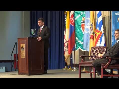 World Leaders Forum: Miroslav Lajčák