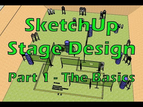 USPSA Stage Design with SketchUp | Part 1 - The Basics