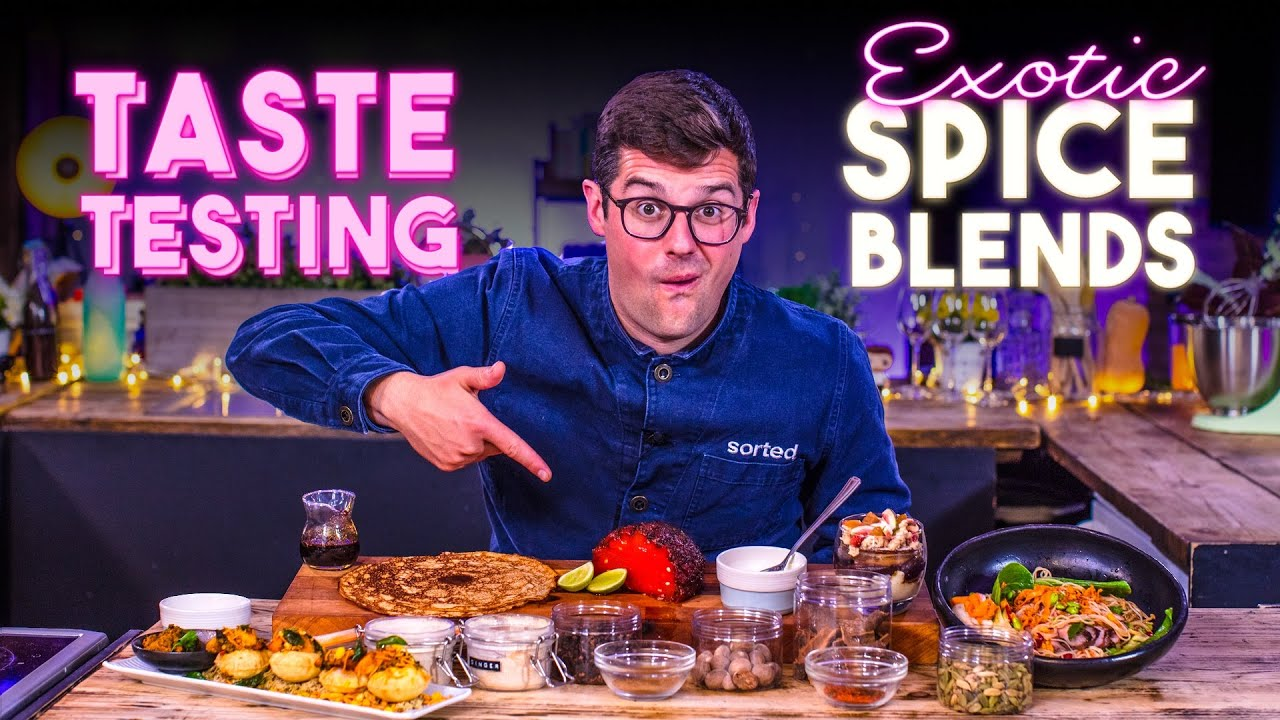 Download Taste Testing 'Exotic' Spice Blends and Recipe Hacks for using them Ep.2 | SORTEDfood