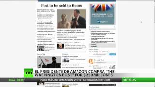 Jeff Bezos, fundador de Amazon, adquiere