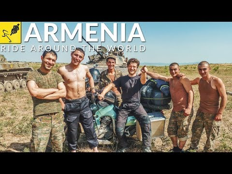MOTORCYCLE JOURNEY Around the WORLD, Caucasus - Armenia & Nagorno Karabakh