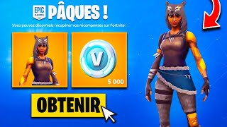 "PLEASE YOUR EXCLUSIVE RECOMPENSES of ""PÂQUES"" FOR FREE on FORTNITE!"