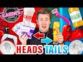 HEADS OR TAILS CONTROLS MY LIFE FOR 24 HOURS