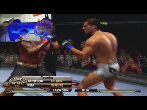 UFC Undisputed 2010 Submission Tutorial / Commentary Shine System