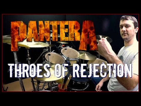 PANTERA - Throes of Rejection - Drum Cover mp3