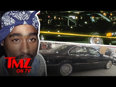 The Car Tupac Was Murdered In Is Up For Sale | TMZ TV