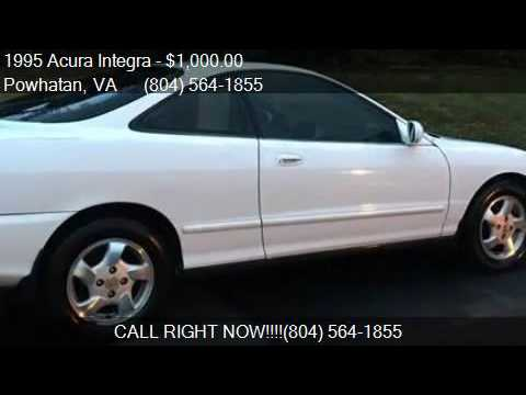 Acura Integra RS Dr Hatchback For Sale In Powhatan VA YouTube - 1995 acura integra for sale