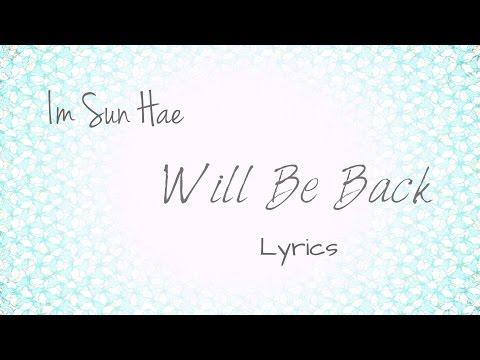 Im Sun Hae (임선혜)- 'Will Be Back (꼭 돌아오리)' (Scarlet Heart: Ryeo OST, Part 9) [Han|Rom|Eng lyrics]
