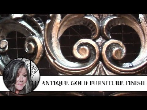 """Antique"" Gold Furniture Finish"