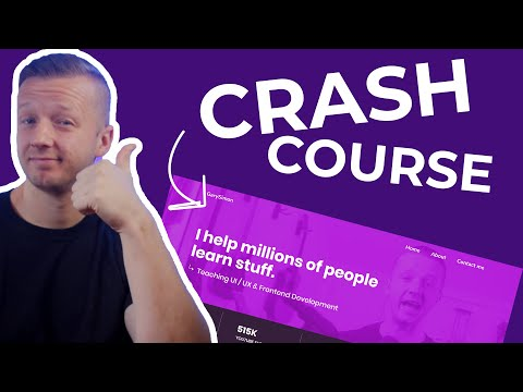 The 2020 HTML & CSS Crash Course - From Mockup To Product