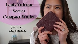 Louis Vuitton Secret compact wallet | ebay luxe purchase