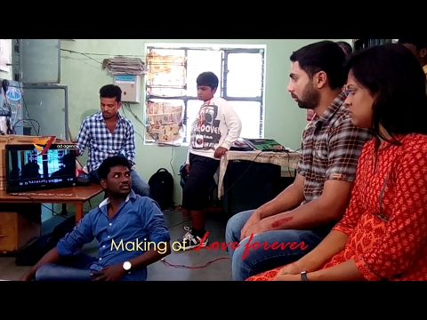 making of SRI (LOVE FOREVER) Telugu Short film Directed by VJ