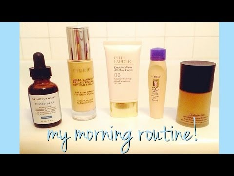 My Morning Routine! + Melasma and Dark Circles