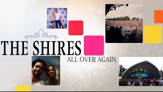 The Shires - All Over Again (Official Lyric Video)
