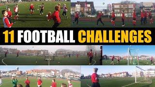 11 Fun Football Challenges | U11 - U12 - U13 - U14 - U15 - U16 | Thomas Vlaminck