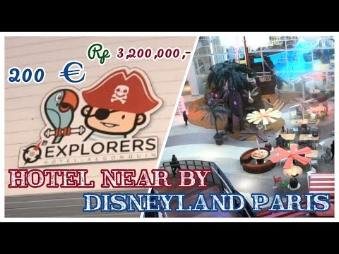 Explorers Hotel Accommodation Next To Disneyland Paris  | Accommodation Review