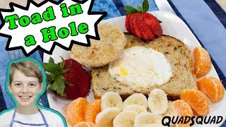 Toad in a Hole - Healthy Breakfast Recipe