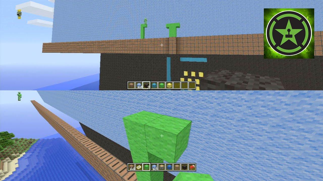 how to build mario on minecraft