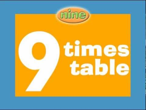 9 Times Tables Preview - Children Love to Sing and Learn - YouTube