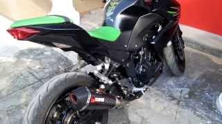Knalpot Scorpion Kawasaki Z250 / Ninja 250 & Rizoma | DuniaMotor.com