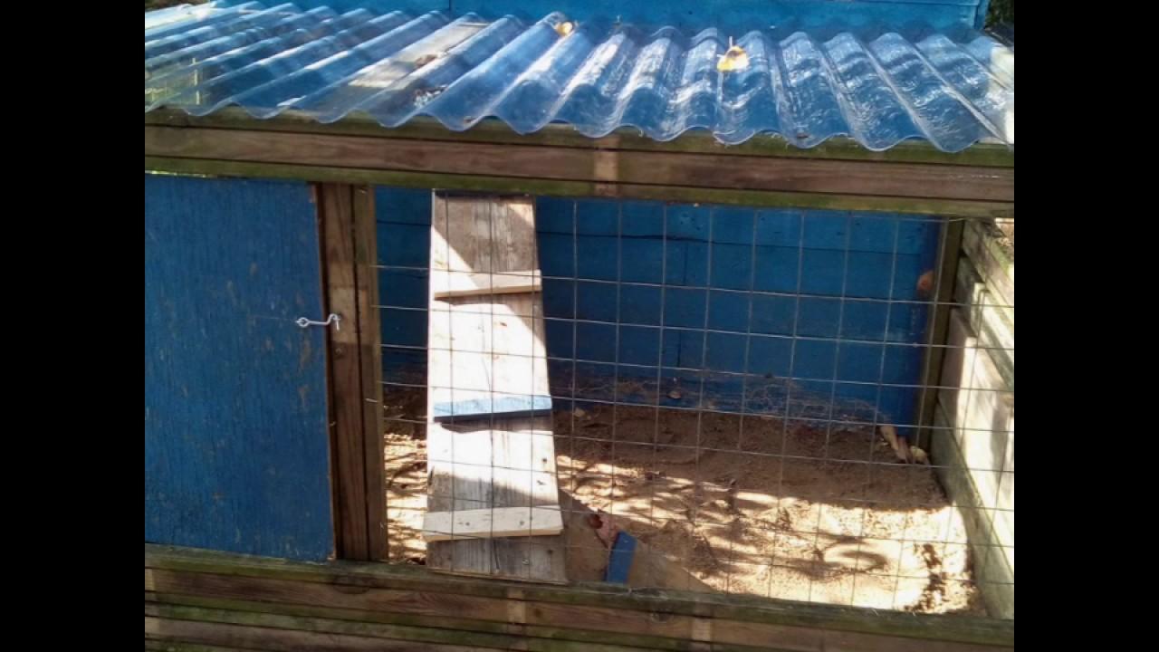 construire sa cabane pour lapin avec de la r cup ration partie 2 youtube. Black Bedroom Furniture Sets. Home Design Ideas