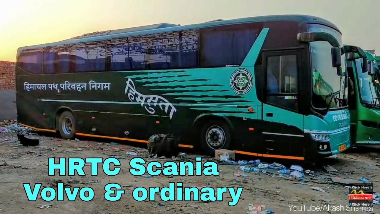 Hrtc Scania Volvo Amp Ordinary Buses Himsuta North