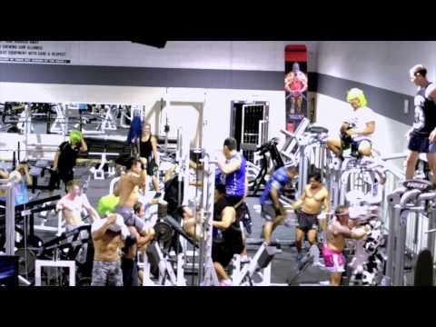 Auckland Gym Harlem Shake (Fitness plus harlem shake) #haff2