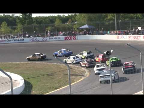 Sunset Speedway Mighty Mini Heat 2 2016 09 03