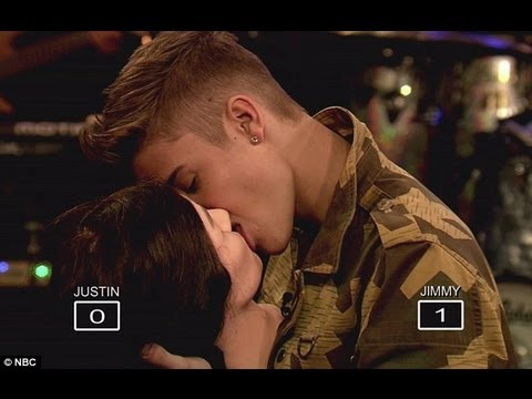 Justin Bieber French Kissing HD