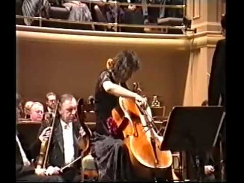 Martinů Cello Concerto No.l  1st movement - Michaela Fukačová