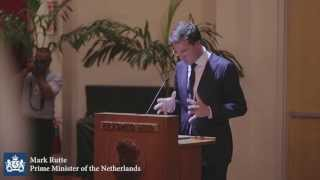 Dutch Prime Minister meets Holland Alumni in Jakarta