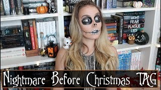 Nightmare Before Christmas ☠️ BOOK TAG