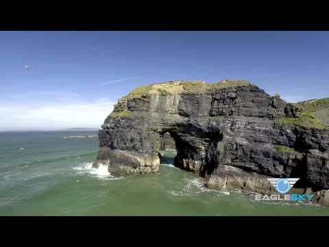 Ballybunion - 4K Aerial Video