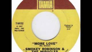 """More Love"" by Smokey Robinson & The Miracles"
