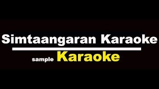 Simtaangaran Karaoke with Lyrics Tamil – Sarkar Song Karaoke Tamil