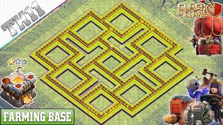 Best TH11 Base 2019 Town Hall 11 Farming Base design Clash of Clans