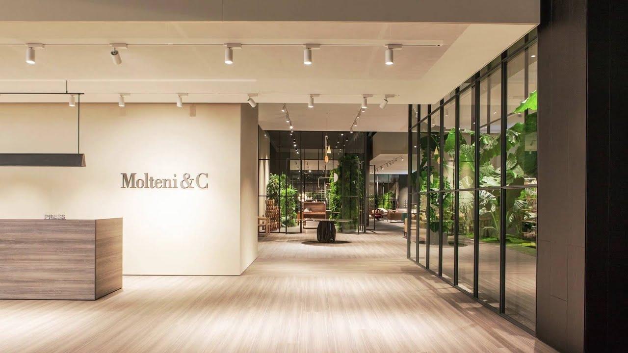Molteni c salone del mobile 2016 youtube for Salone del mobile hotel