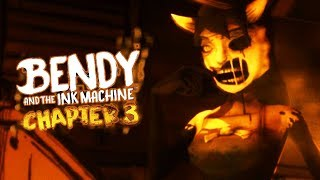 WORKING FOR ALICE ANGEL!   Bendy and the Ink Machine CHAPTER 3 (Part 2)