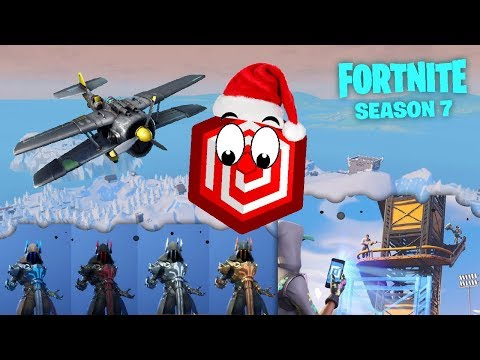 WELCOME TO FORTNITE SEASON 7 - PLANES, WEAPON SKIN, SNOW BIOME AND CREATIVE MODE!