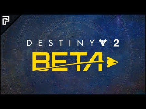 ☄️ OUR FIRST LOOK AT DESTINY 2! | (Destiny 2 Beta Gameplay PS4 - First Missions & Guns Testing!)