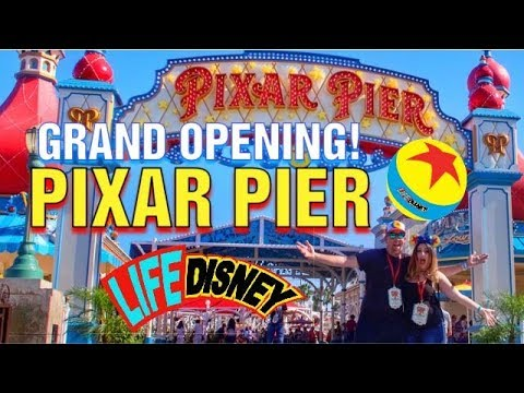 Exclusive First Look at The Grand Opening of Pixar Pier 2018!